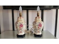 2 Lovely Matching Table Lamps