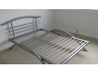 Double Bed and Mattress for Sale - excellent condition
