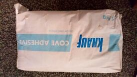 Knauf gypsum based cove adhesive 5kg free