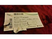 Micky flanagan ticket (birmingham)
