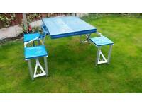 Camping Table & chairs