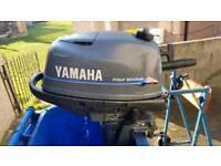 Yamaha 4hp 4 stroke longshaft outboard motor
