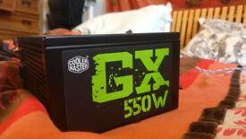 CoolerMaster 550w watt Desktop PC Power Supply PSU