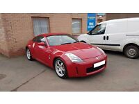 Price lowered!! Nissan 350z, 10 months MOT, Low mileage, awesome car!