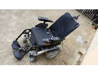Pride Fusion Electric Powered Wheelchair with Power Tilt & Manual Recline