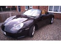 Beautiful Porsche 986. Very low mileage. Perfect condition. First to see will buy. FSH.