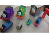 Thomas the tank engine, various sizes