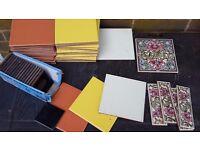 Decorative tiles job lot