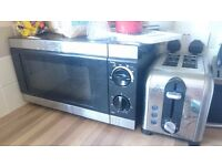 Set of appliances- Kettle, Slow cooker, Toaster and Microwave