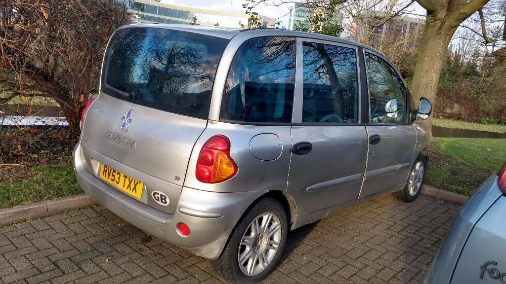 Fiat Multipla Jtd 2003 Very Reliable And Confortable