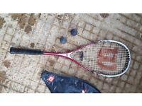 Wilson Punisher Squash Racket