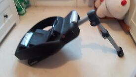 Full travel system comprising joie pushchair and maxi cosi pebble car seat and base