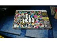 Wii dj hereo and game