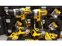 Dewalt 18v XR Brushless Twin Pack's Complete with 2 x 5ah Batteries