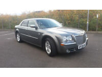 2009(09)CHRYSLER 300C 3.0 CRD V6 LUX AUTOMATIC MET GREY,BIG SPEC,FSH,BENTLEY GRILL,LOVELY CAR