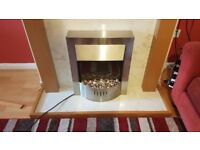 Electric Fireplace - £80