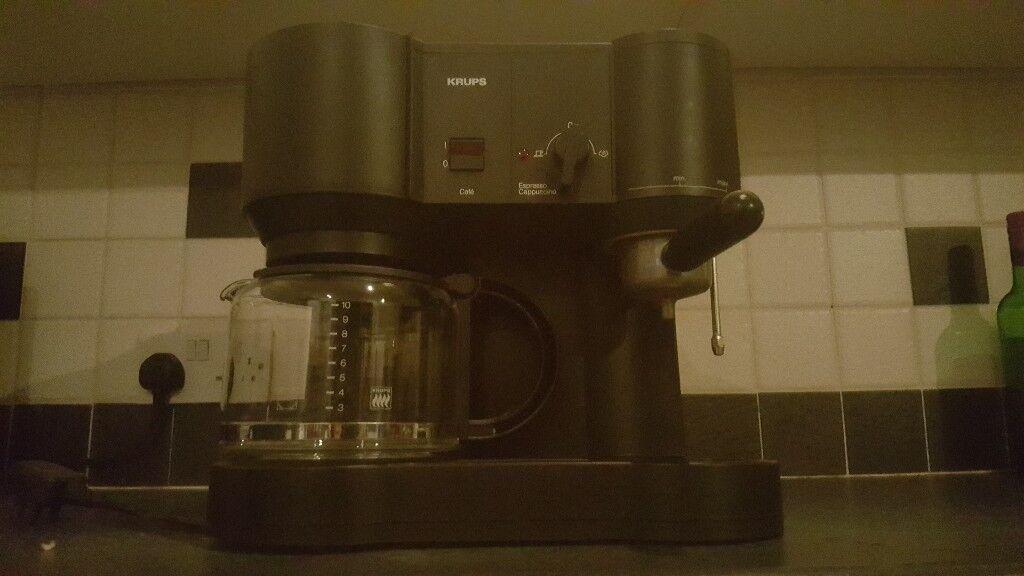 Krups Barista style Coffee Machine