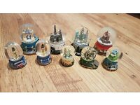 Collection of snowglobes