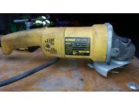 DeWalt DW831 angle grinder 115v
