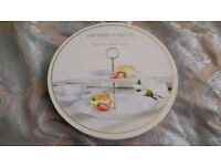 Brand new Cake Stand Orchard & Bloom Boxed