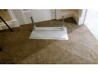 Bush 37 inch Freeview TV with floor stand.