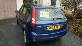 Ford Fiesta Style - Blue - 07 Plate