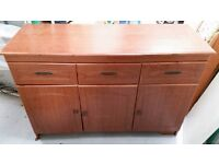 Cupboard and drawer unit