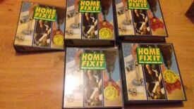 Home Fix It Home Improvement Books With Binders - Over 2000 pages.