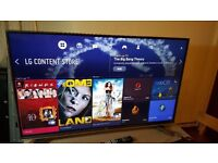 """LG 49"""" Smart 4K UHD HDR PRO LED TV-49UH750V,built in Wifi, BLUETOOTH,Freeview HD,Excellent condition"""