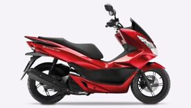 Honda PCX 125 Red Color Scooter with 7 months warranty