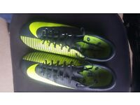 Nike MERCURIAL F/BALL BOOTS Size 8