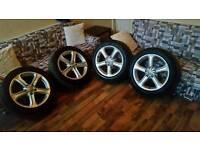 """Audi a4 17"""" alloys"""