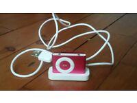 iPod shuffle 1Gb pink