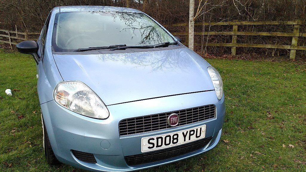 FIAT GRAND PUNTO 1.2 PETROL HATCH-BACK