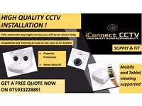 CCTV CAMERAS SUPPLIED AND FITTED in all MIDLANDS AREA ! - 1080p HD cameras with Smartphone APP!