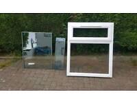 ** Brand New uPVC Double Glazed Window White with Frame