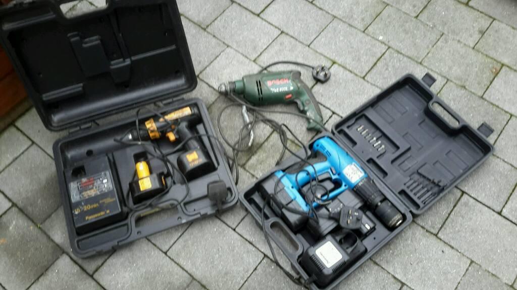 Joblot drills
