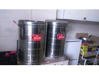 RAJALAXMI Stainless Steel food/Grain Containers in mint condition