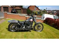 1998 Harley softail springer, lots of extras and low mileage.