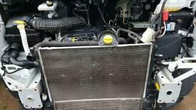 Renault master 2.3dci 2013 engine diesel pump injectors turbo complete