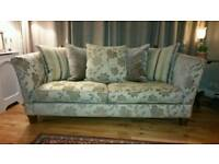 Large drop arm sofa