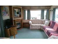 Caravan (in Silecroft) for Sale - double-en-suite, twin, lg sitting room, kitchen, bathroom/shower