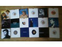 18 x george michael vinyl singles