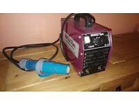 240v welding set and leads