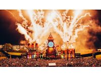 Boomtown Ticket (50/50 Coach Traveller Adult Residency Pass from Bristol)