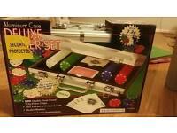 Brand New Deluxe Poker Set