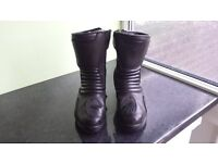Mens Bullson motorbike boots size 41 black fantastic condition