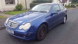 mercedes c 220cdi coupe price 550£ ono