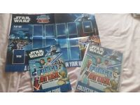 Topps star wars force attax trading cards collection