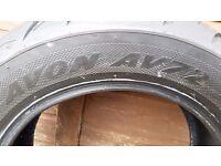 Avon AV72 200/70-15 Cobra motorbike tyre